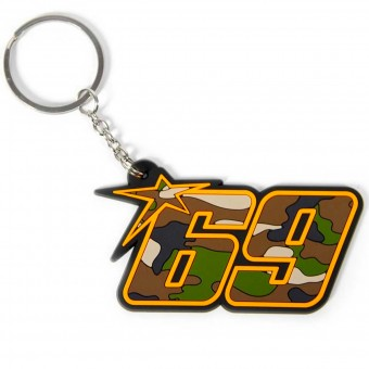 Novelty Items Nicky Hayden Keyring Hayden 69 Camouflage