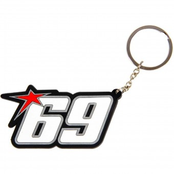 Novelty Items Nicky Hayden Keyring Hayden 69 White
