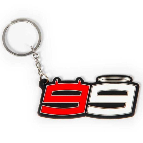Novelty Items Jorge Lorenzo Lorenzo 99 Keyring Black
