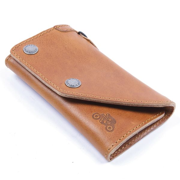 Novelty Items Helstons Leather Tan Wallet