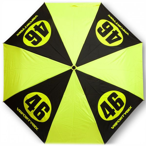 Novelty Items VR 46 Umbrella Small VR46 Yellow Black