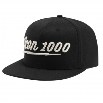 Motorcycle Caps ICON 1000 AM Screamer Black