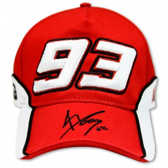 Motorcycle Caps Marquez 93 Cap 03 Red MM93