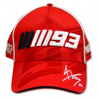 Motorcycle Caps Marquez 93 Cap 04 Red MM93