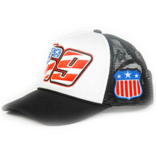 Motorcycle Caps Nicky Hayden Trucker USA Hayden 69