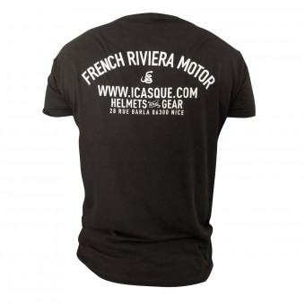 Motorcycle T-Shirts iCasque French Riviera Motor Black