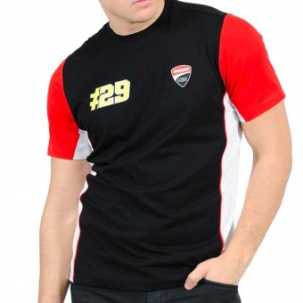 Motorcycle T-Shirts Andrea Iannone Iannone Ducati Dual Black