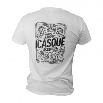 Motorcycle T-Shirts iCasque Savage Black