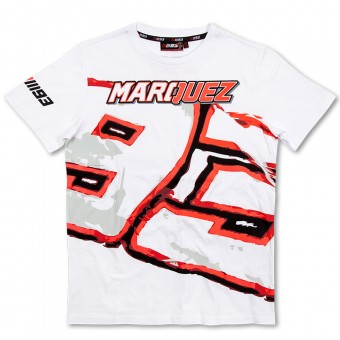Motorcycle T-Shirts Marquez 93 T-Shirt White MM93