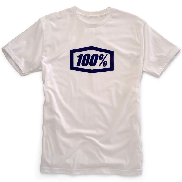 Motorcycle T-Shirts 100% Essential White