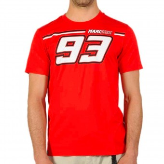 Motorcycle T-Shirts Marquez 93 Marquez 93 Tee Red
