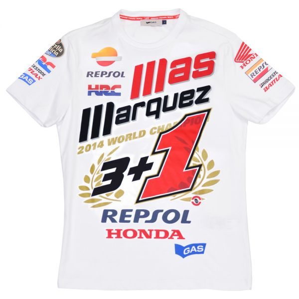 Motorcycle T-Shirts Marquez 93 World Champion 2014 MM93