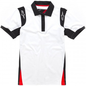 Motorcycle T-Shirts Alpinestars Spielberg Polo White