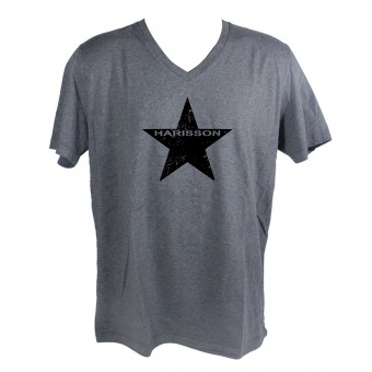 Motorcycle T-Shirts HARISSON Star Grey