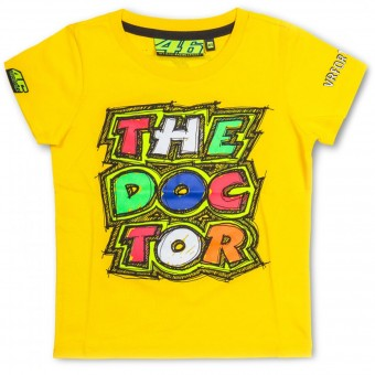 Motorcycle T-Shirts VR 46 T-Shirt Kid The Doctor Yellow VR46