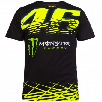 Motorcycle T-Shirts VR 46 T-Shirt Monza Monster VR46