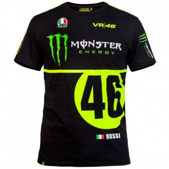 Motorcycle T-Shirts VR 46 T-Shirt Replica Monster VR46