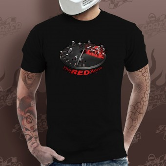 Motorcycle T-Shirts Gaaz The Red Zone (Black)