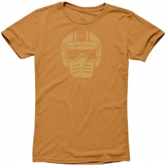 Motorcycle T-Shirts Alpinestars Visor Tee Orange Heather