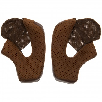 Helmet Padding Bell Bullitt Brown Cheek Pads