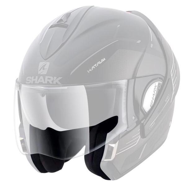 Helmet Padding Shark Pair Of Cheekpads Evoline Serie 3 Pro Carbon