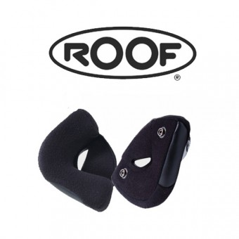 Helmet Padding Roof Pair Of Cheekpads Boxer V-Boxer V8-Roadster-Rats-Rider