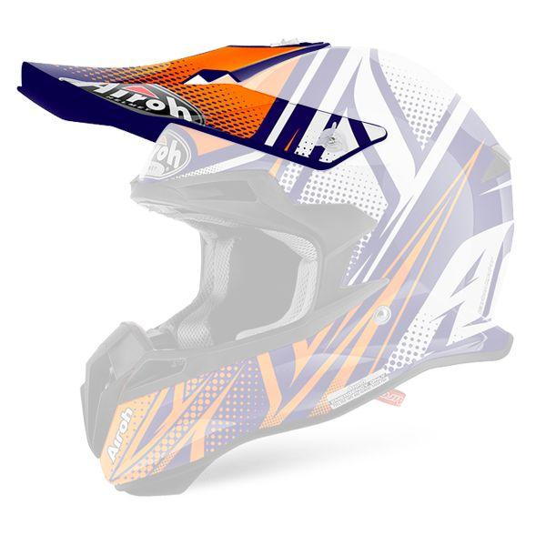 Helmet Spares Airoh Terminator 2.1 S Cleft Orange Peak