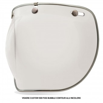 Visors Bell Bubble Visor with Aluminium for Custom 500