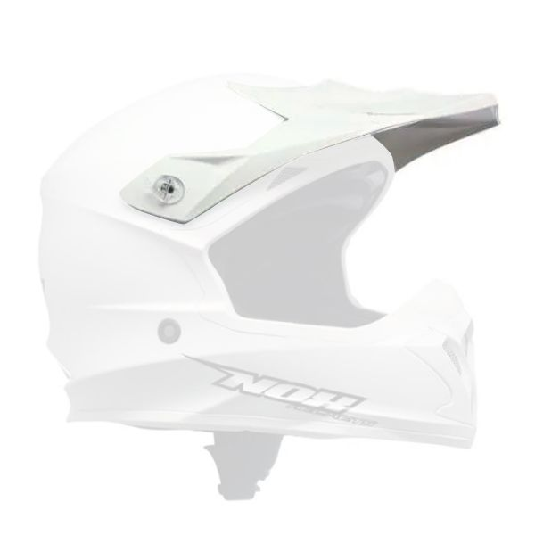 Visors NOX Charger White Peak