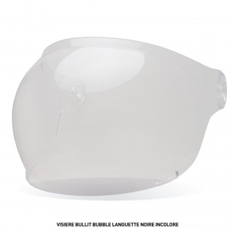 Visors Bell Bullit Bubble Visor with Black leather Tab