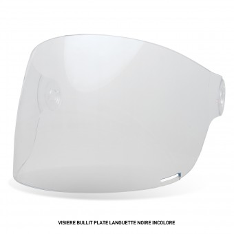 Visors Bell Bullit Flat Visor with Black leather Tab