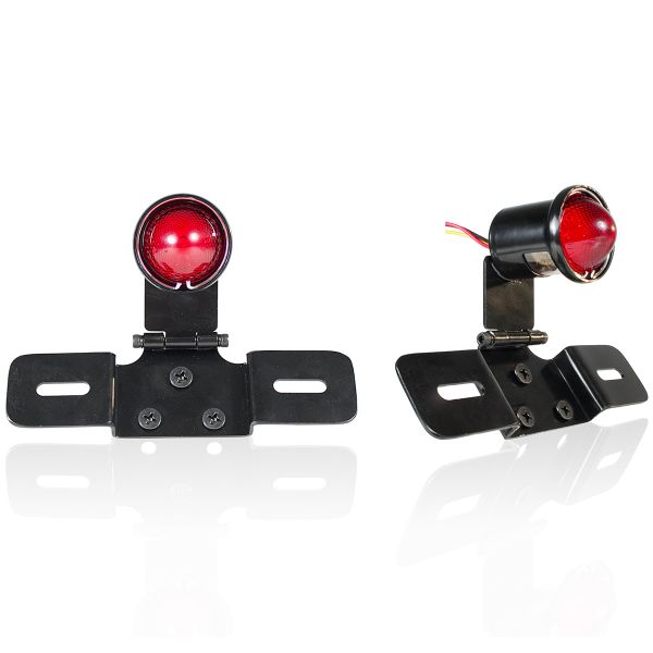 Motorcycle Lights and Headlights Chaft Buch Red