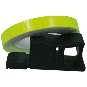 Stickers Chaft Wheel Strip Rim Tape Fluoro Yellow