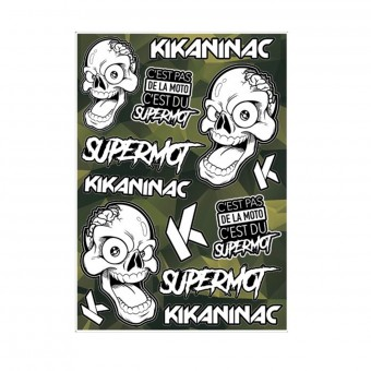 Stickers Kikaninac Stickers Supermot