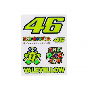 Stickers VR 46 Stickers Small Multicolor VR46