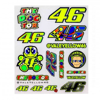 Stickers VR 46 Stickers Big VR46 Milticolore