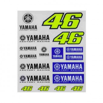 Stickers VR 46 Stickers Racing Yamaha VR46
