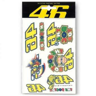 Stickers VR 46 Tattoo Set VR46