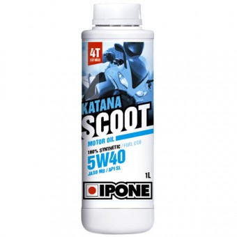 Motorcycle Oil IPONE Katana Scoot - 5W40 100 % Synthetic - 1 Litre 4T