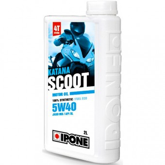 Motorcycle Oil IPONE Katana Scoot - 5W40 100 % Synthetic - 2 Litre 4T