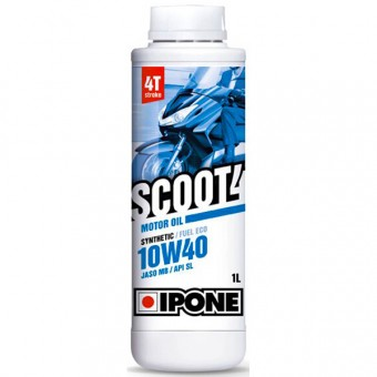 Motorcycle Oil IPONE Scoot 4 - 10W40 Synthetic - 1 Litre 4T