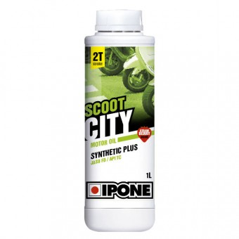 Motorcycle Oil IPONE Scoot City - Synthetic Plus - 1 Litre 2T