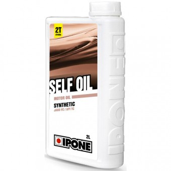 Motorcycle Oil IPONE Selfoil - Synthetic - 2 Litres 2T