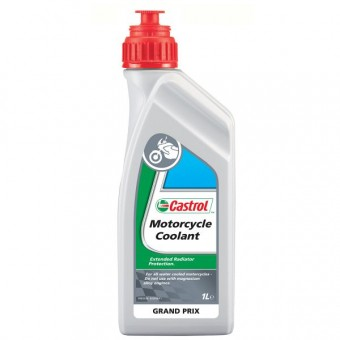 Coolant Castrol Motorcycle Coolant 1 Liter