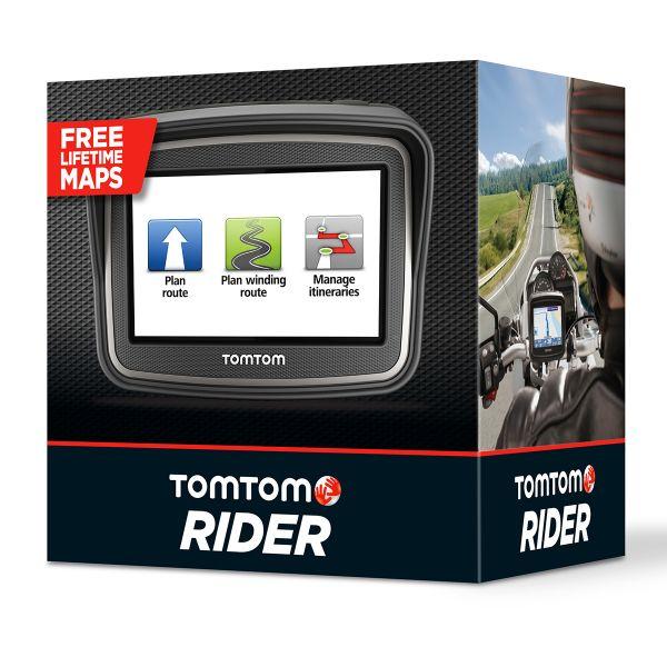 motorcycle gps navigation tomtom tomtom rider v4 europe 23 in stock. Black Bedroom Furniture Sets. Home Design Ideas