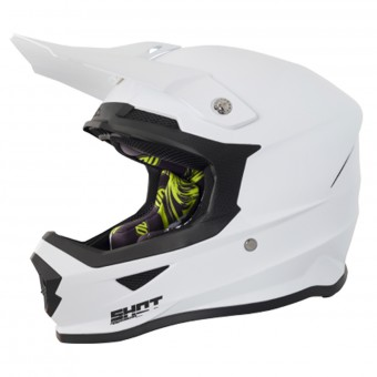 Casque Motocross SHOT Furious Solid White