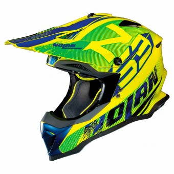 Casque Motocross Nolan N53 Whoop Led Yellow 49