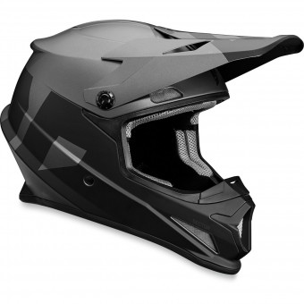 Casque Motocross Thor Sector Level Black Grey