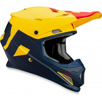 Casque Motocross Thor Sector Level Navy Yellow