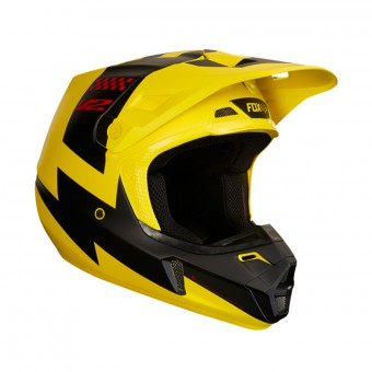 Casque Motocross FOX V2 Master Yellow